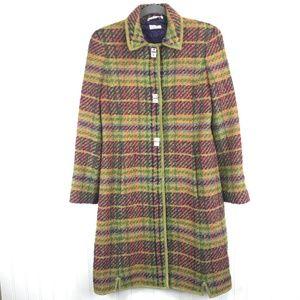 VTG Philosophy di Alberta Ferretti Wool Tweed Coat
